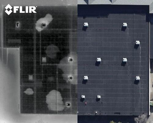 FLIR-IR-roof-water-damage