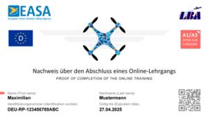 Fernpiloten-Kompetenznachweis A1/A3