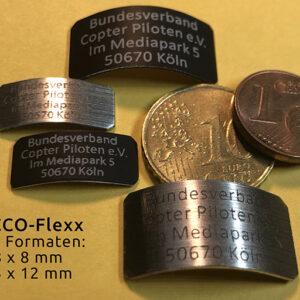 Biegsame PICCO-FLexx Kennzeichnungs-Plaketten