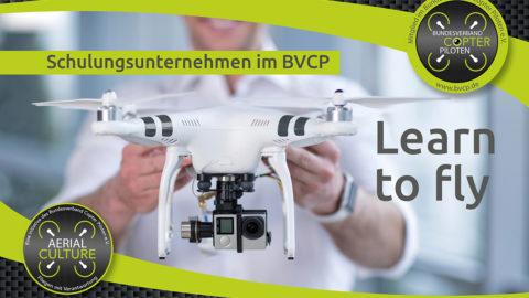 Über 200 Schulungen und Prüfungen zum Drohnenführerschein