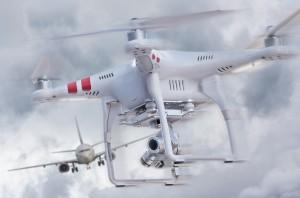Kollision mit Drohne
