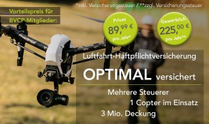 Copter Versicherung – Optimal