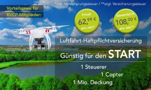 Copter Versicherung – Start