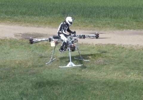 Die Entwicklung bemannter Multicopter