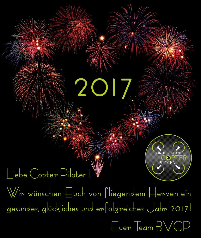 Ein Frohes Neues Jahr allen Copter Piloten ! | BVCP