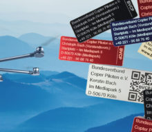 Drohnenplaketten zu fairen Preisen, aus zugelassenem Material und richtig platziert
