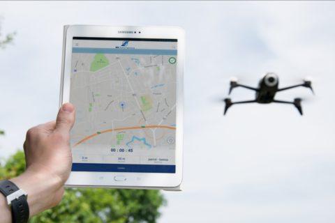DFS startet neue DrohnenApp