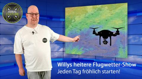 Willys heitere Flugwetter-Show