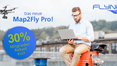 30% Mitglieder-Rabatt für Map2Fly Pro