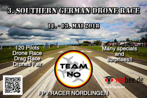 No Limit, let the Air burn – drone race & fair in Nördlingen