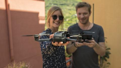 Drohnen-Plakette Picco für den neuen Mantis Q von Yuneec