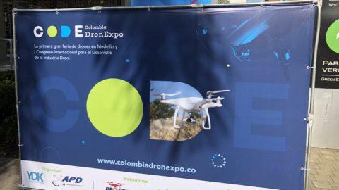 BVCP und 6 lateinamerikanische Länder auf der Colombia DronExpo