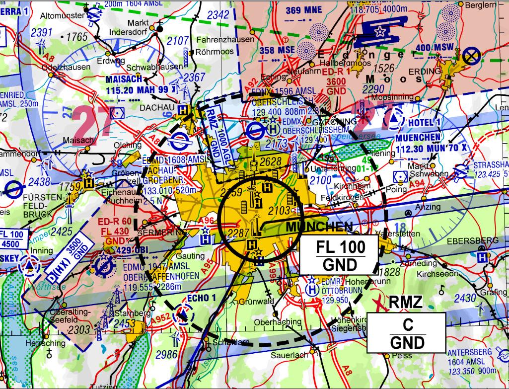 Luftraumbeschränkung München zum Oktoberfest 2018