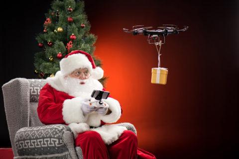 Weihnachtszeit – Drohnen-Zeit