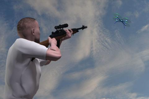 Drohnen zum Abschuss freigegeben?