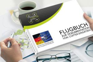 Das neue EU-konforme BVCP-Flugbuch zur Dokumentation von Copter-Einsätzen