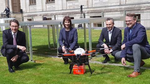 Drohnen-Aktionsplan der Bundesregierung präsentiert