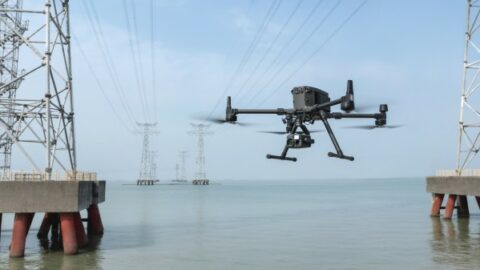 Neue Drohnenplattform DJI 300 RTK mit Hybridkameras