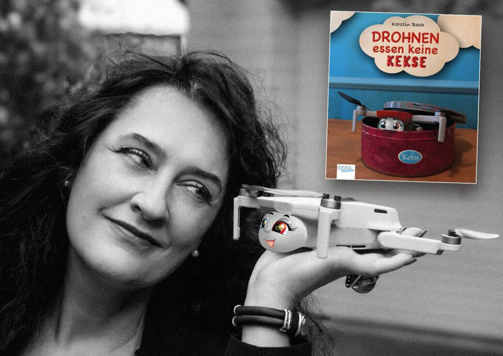 """Autorin Kerstin Bach """"Drohnen essen keine Kekse"""""""