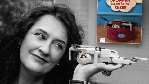 """Kinderbuch """"Drohnen essen keine Kekse"""""""